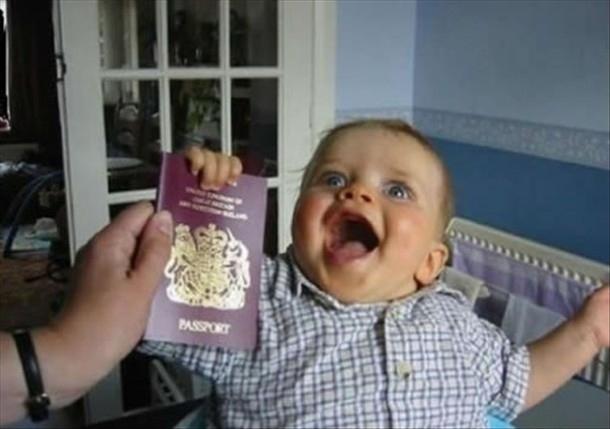 Baby + passport
