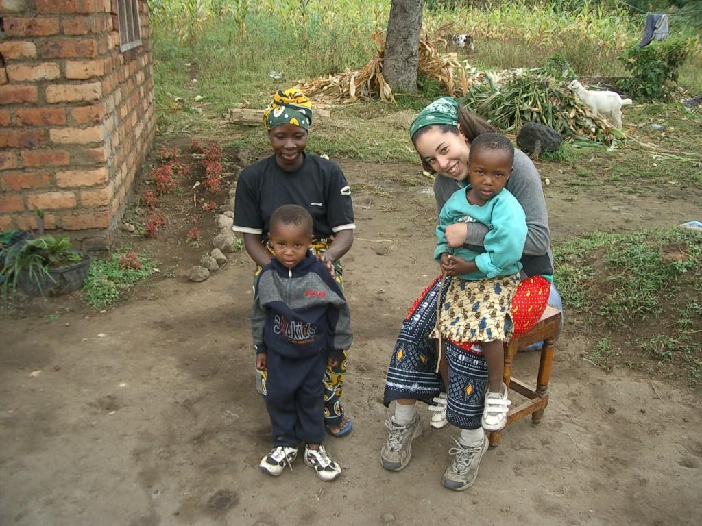 My Tanzanian host family