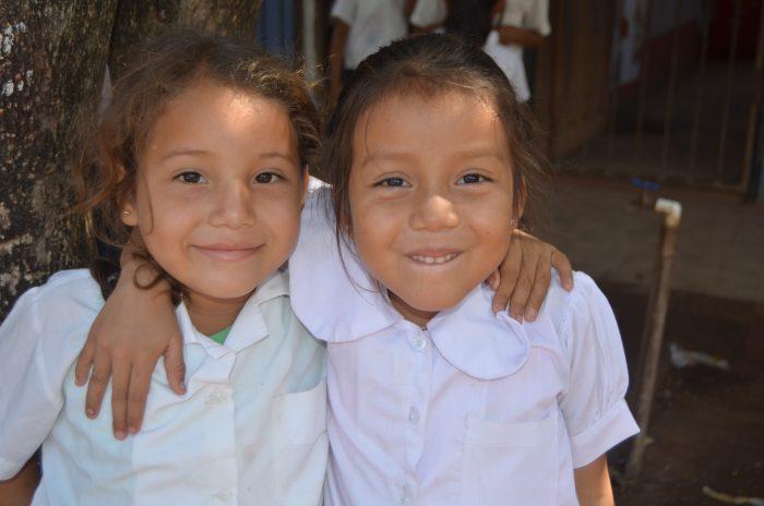 First grade girls.