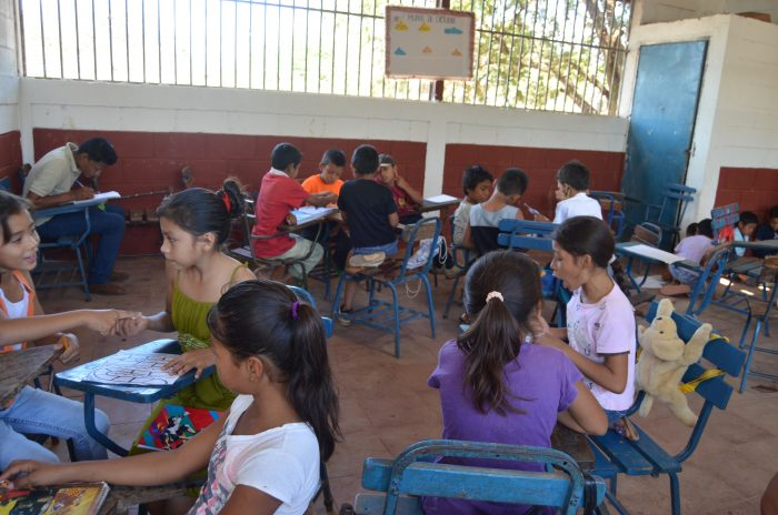 Third grade classroom.