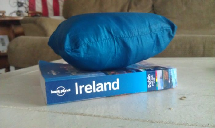 The Nano Puff jacket zips into a pocket the size of a Lonely Planet. Every traveler can relate to that!