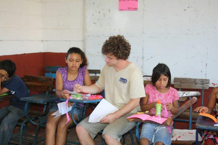 Owen teaching in Nicaragua.