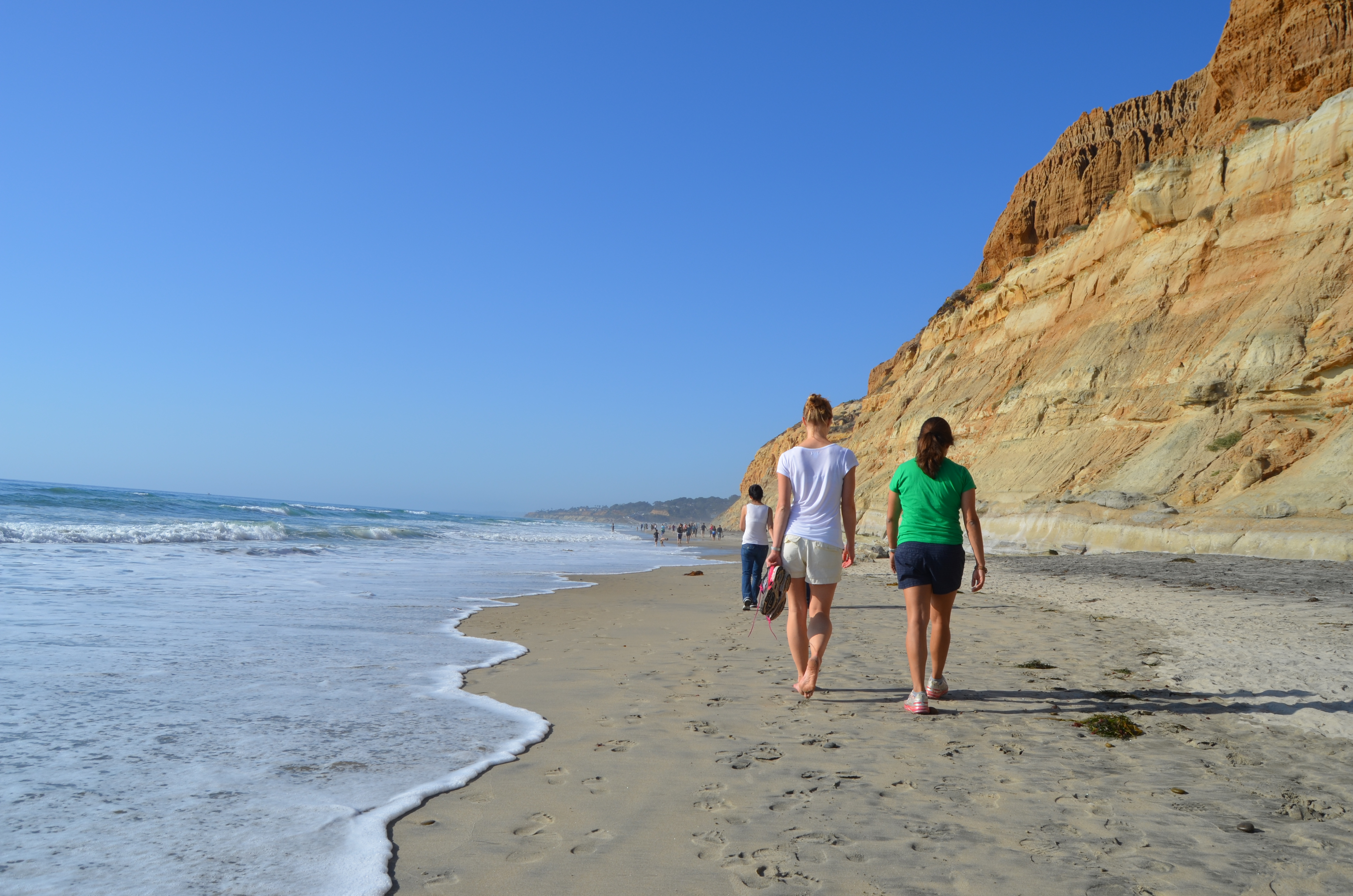 Emily in Torrey Pines State Reserve