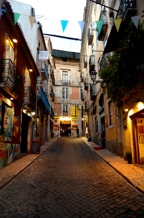 One of Lisbon's picture-perfect streets.