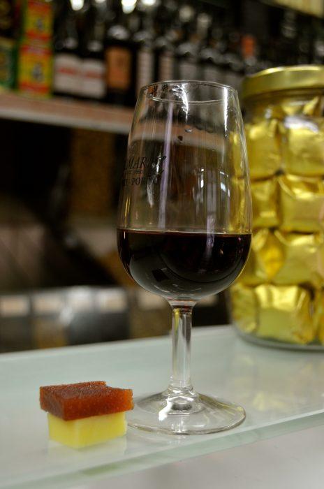 Port, cheese, and marmelade on the Inside Lisbon food tour. Yummmm.