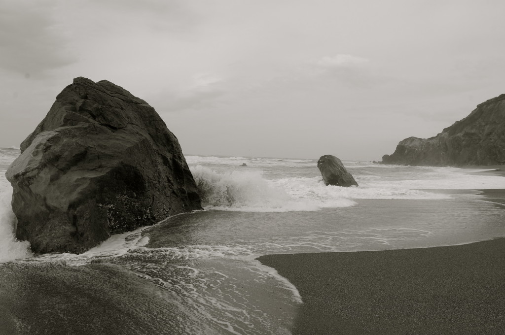 Rocky Oregon coast