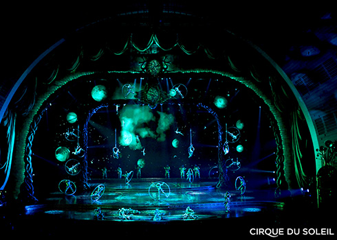 Review of Zarkana in Las Vegas
