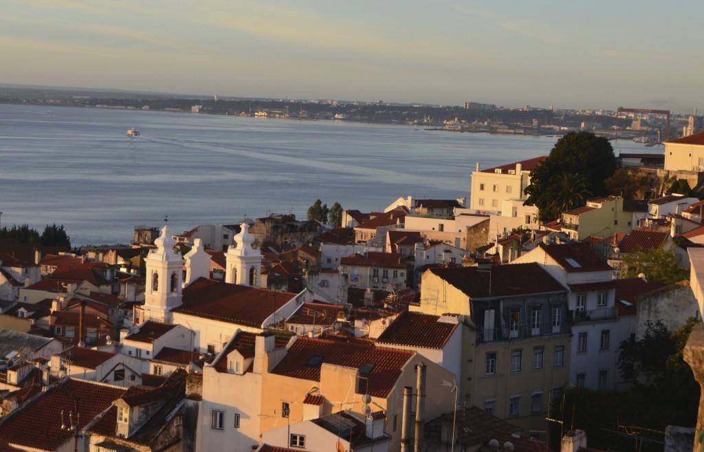 Golden hour in Lisbon