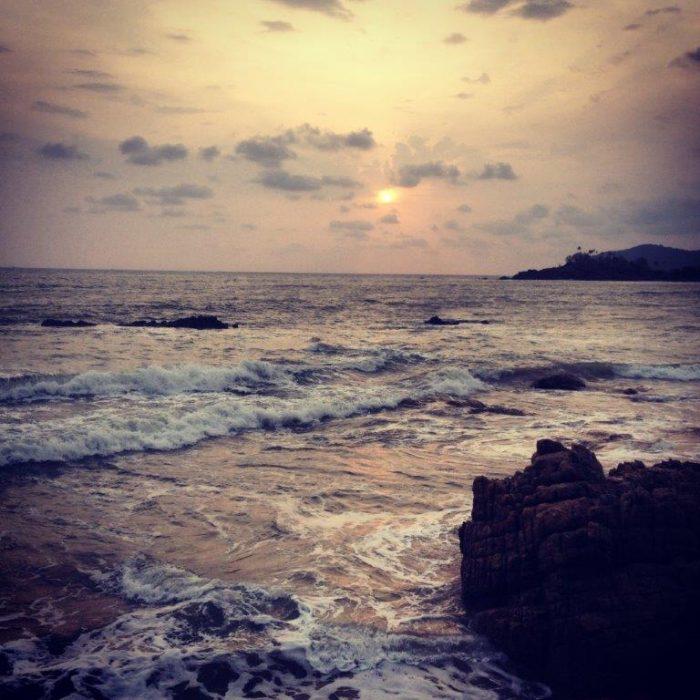 rocks Patnem Beach