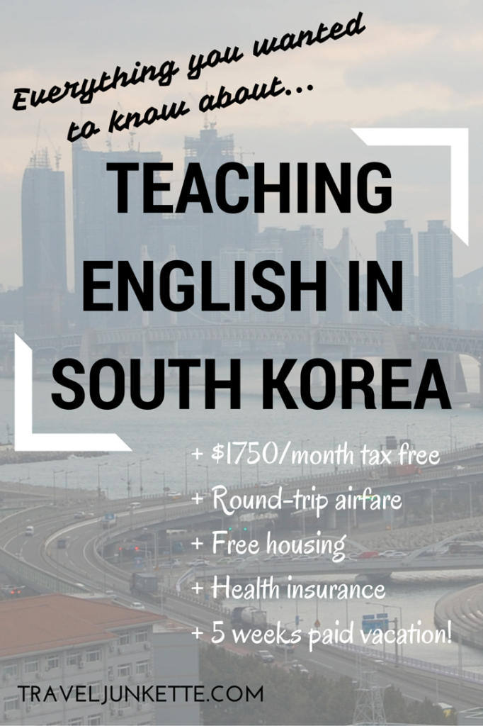 FAQS about teaching English in Korea