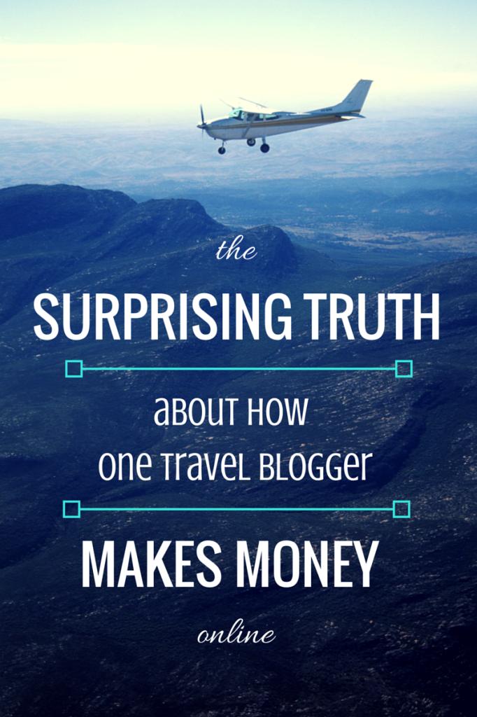 how travel bloggers make money online