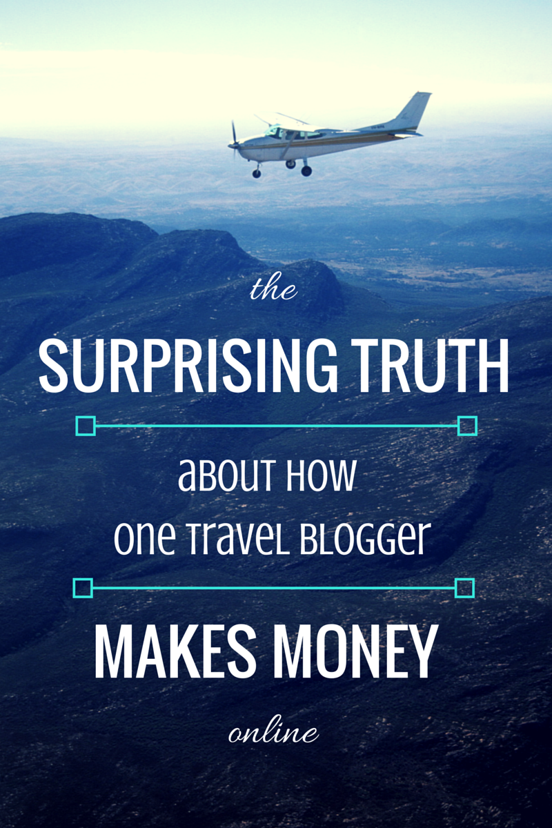 how travel bloggers make money online