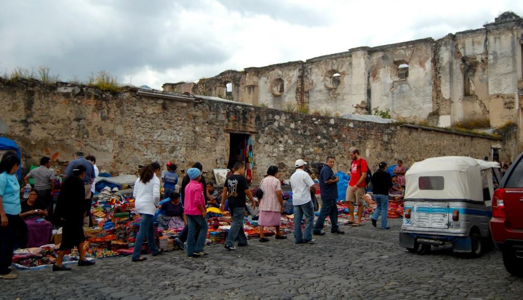 Market in Antigua