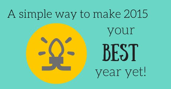Make next year better