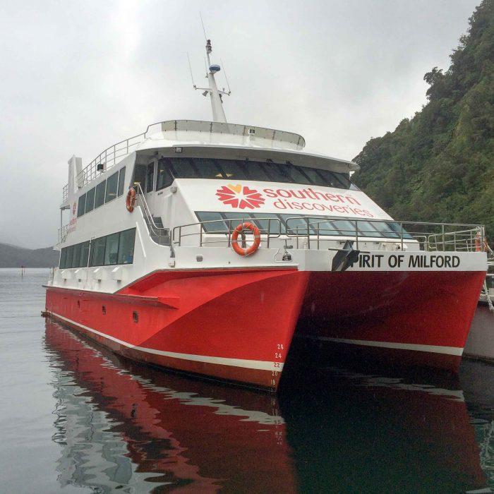 southern discoveries sweet catamaran, new zealand