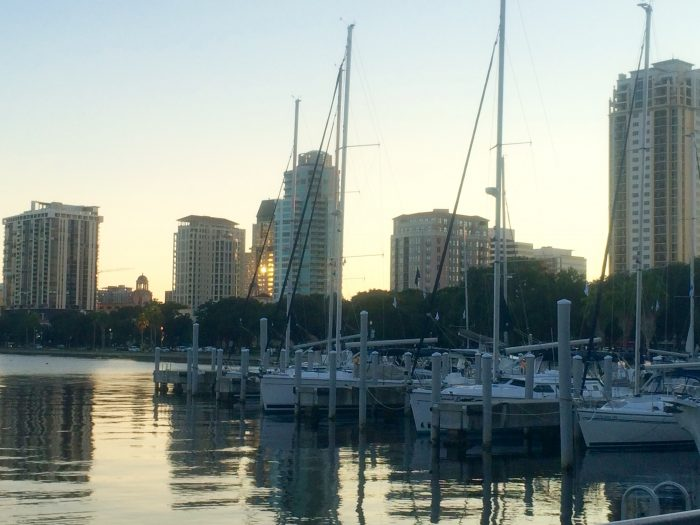 downtown st. pete harbor