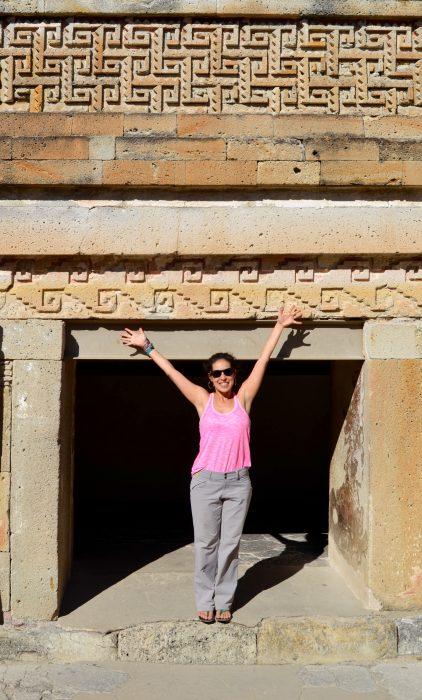 visiting mitla ruins